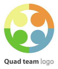Quad team logo