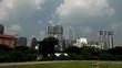 View  to Petronas Twin Towers, Kuala Lumpur, Malaysia