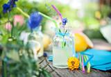Fototapety limonade mit kräutern I