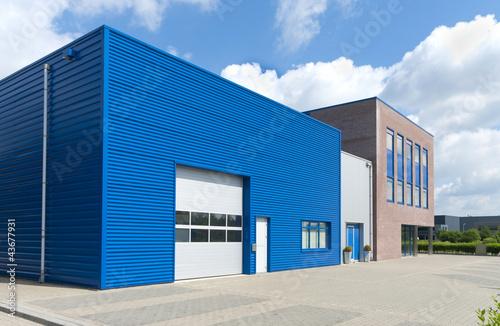 Fotobehang Industrial geb. modern business unit