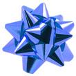 noeud bleu emballage paquet cadeau