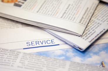 Zeitung Service II