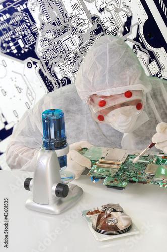 Reinraum Elektronik