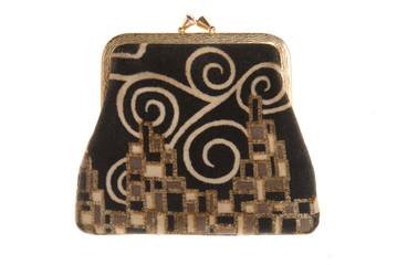 Женский кошелек для монет в стиле ретро.
