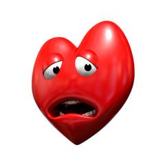 Coeur triste 3d