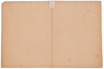 Uraltes Papier ca. 300 Jahre alt