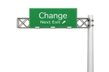 Change - Nächste Ausfahrt