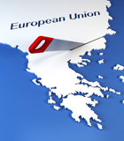 Greece secession from European Union poster