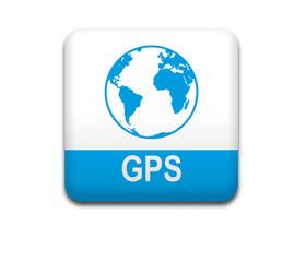 Boton cuadrado blanco GPS