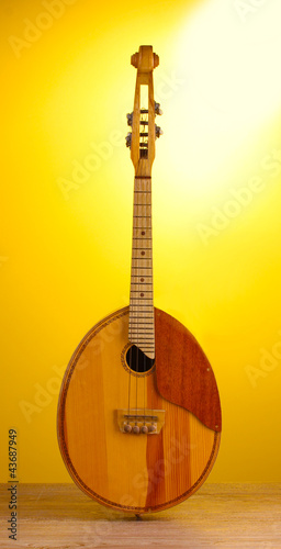 Retro kobza- Ukrainian musical instrument