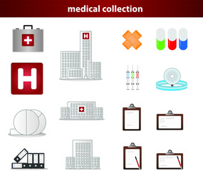 medical collection icon