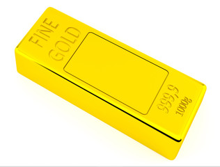 Brick of gold