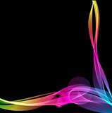 Fototapeta tło - kolorowy - Dym