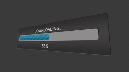 Download progress bar.