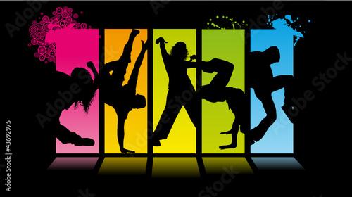 Street Dance Backdrop