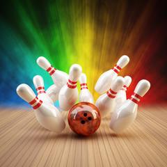 Bowling Strike bunt