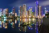 Fototapety gold coast at night