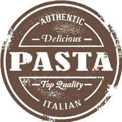 Vintage Style Pasta Stamp