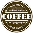 Vintage Style Coffee Stamp