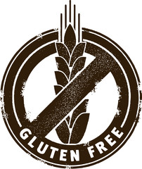 Gluten Free Menu Stamp