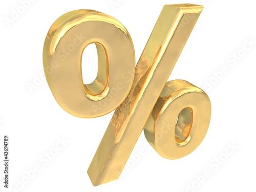 Prozent Gold