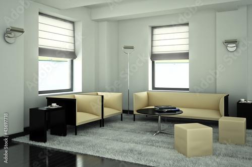 Modern designed studio