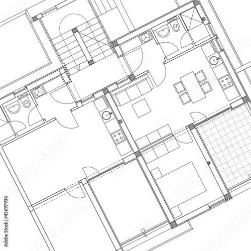 Dessin D 39 Architecture Photo Libre De Droits Sur La