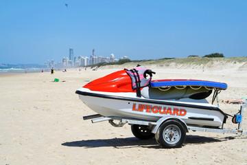 Lifeguard Jet Ski
