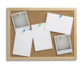 cork bulletin notice board copy space with clipping path 1