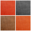 quality leather backgrounds set, Florence, Italy