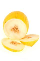 Melon d'eau coupé