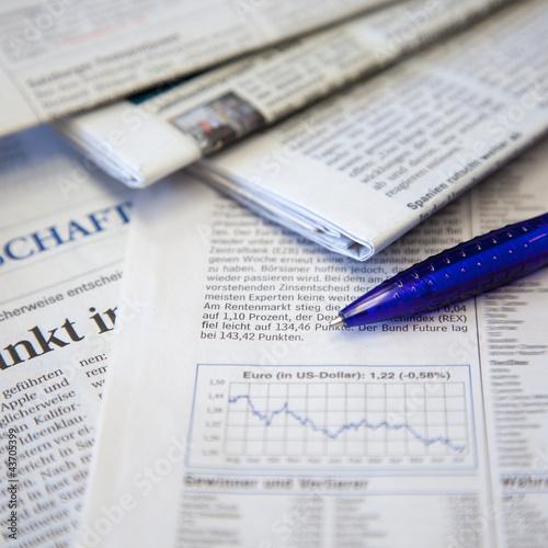 Zeitungen Wirtschaft II