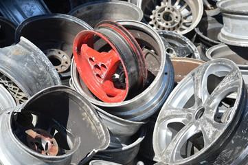 Aluminium - Schrott - Recycling