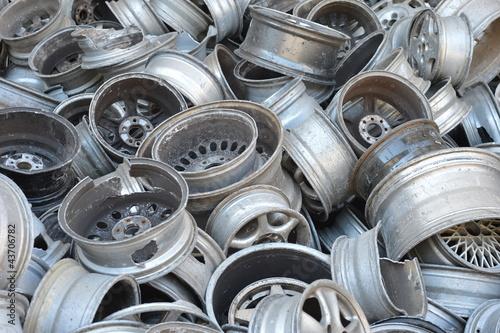 Aluminium - złom - recykling