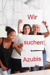 Personalsuche - Wir suchen Azubis