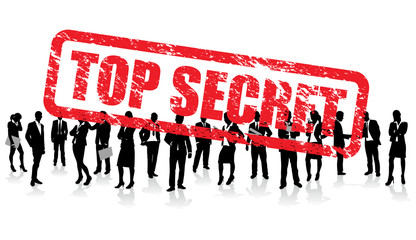 top secret business people