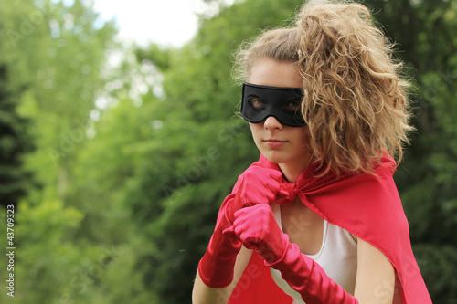Poster superhero girl