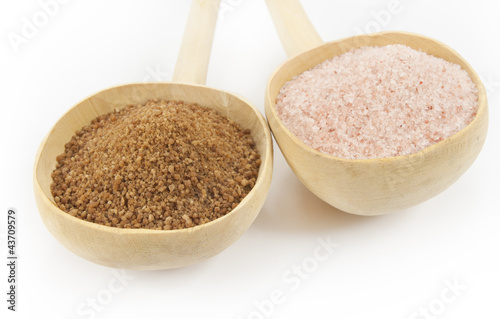 palm sugar and himalayan salt