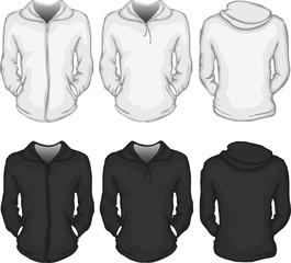 women's hoodie shirt template