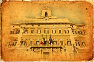 Montecitorio Palace, Rome