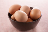 bowl full of fresh eggs