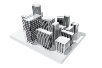 Edificios en la ciudad