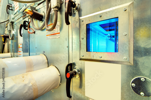 UV Purification in a Cooling Unit