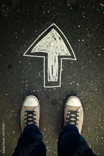 Walking direction