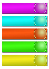 Tiras colores