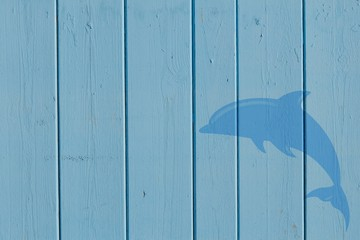 texture con delfino