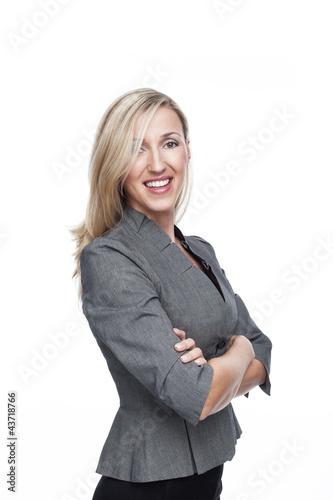 Natürlich hübsche Geschäftsfrau