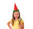 Girl with lollipop.