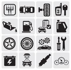 Auto Car icons