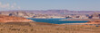 Panoramic view of Lake powell, Utah